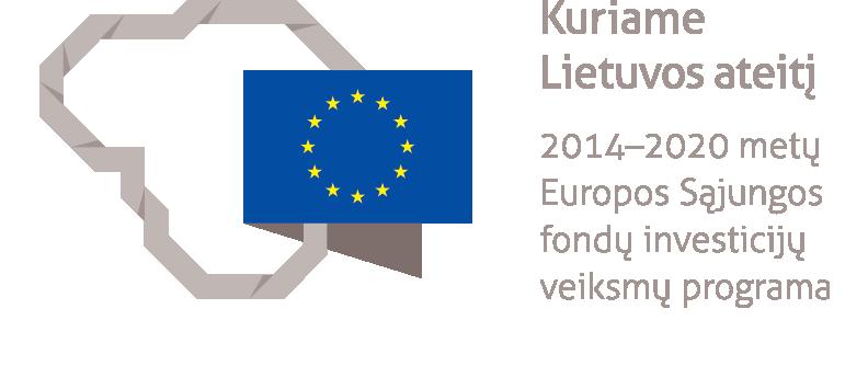 Europos Sąjungos fondų investicijos Lietuvoje logotipas